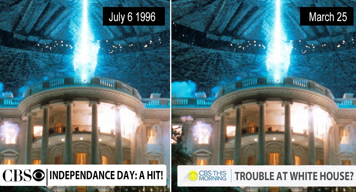 CBS News Admits 'Mistake' After Airing Footage Of Independence Day Film