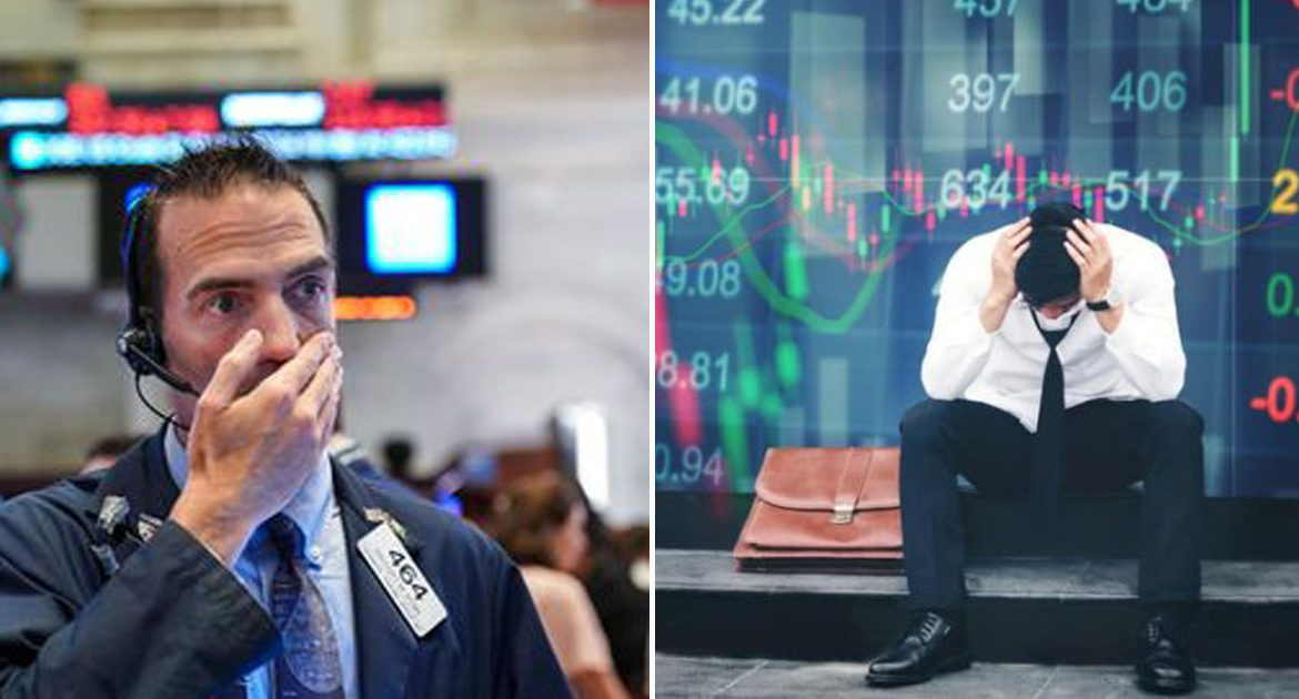 "Dow Jones Plummets to Dreaded ""Obama's High-Water Mark"" Level"