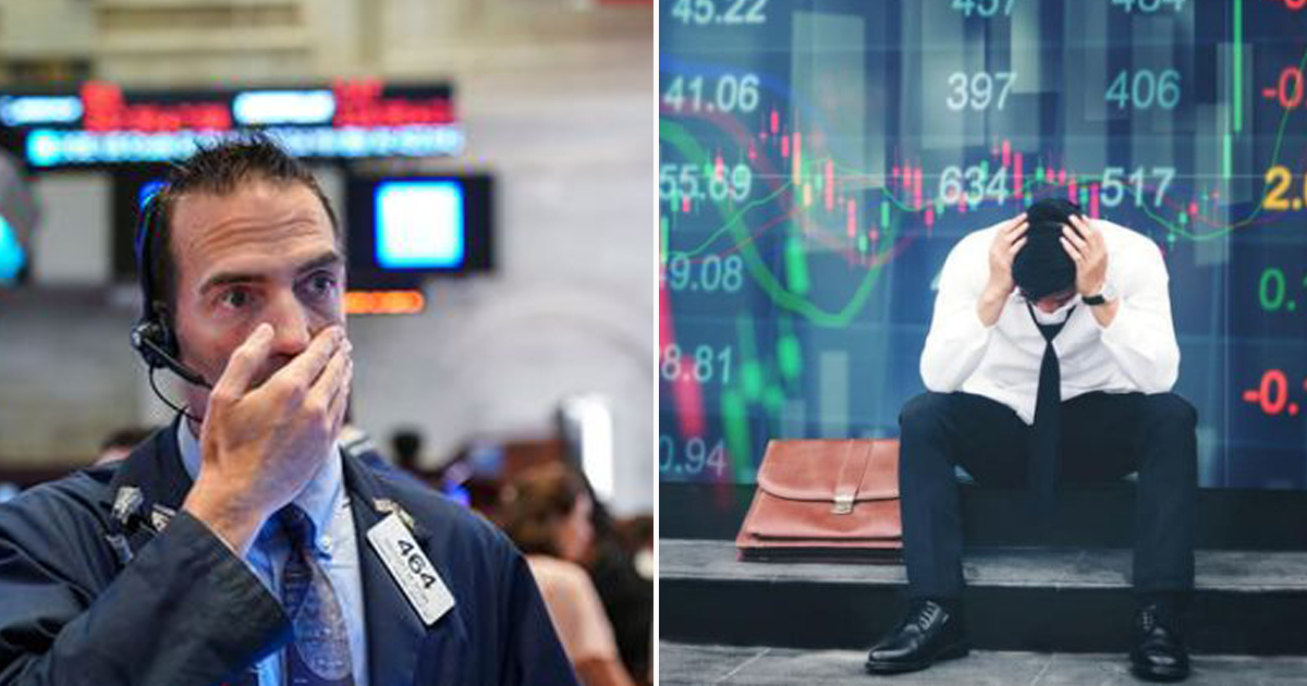 "Dow Jones Plummets to Dreaded ""Obama's High-Water Mark"" Level"
