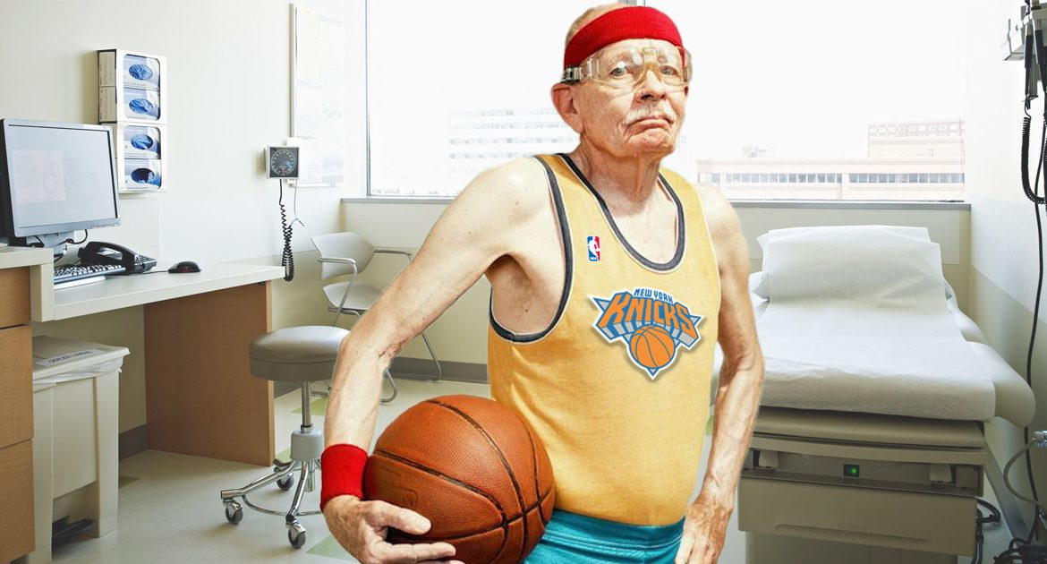 86 Year-Old Man Gets Tested For Coronavirus After Convincing Hospital He Was NBA Star