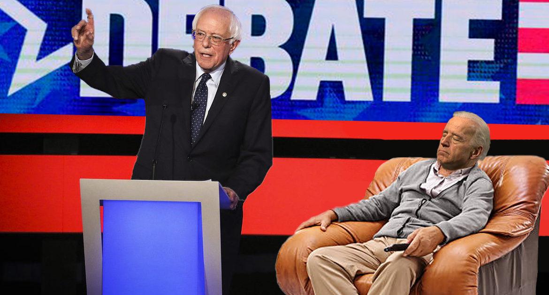 DNC: New Debate Format Will Allow Joe Biden To Sleep In Chair
