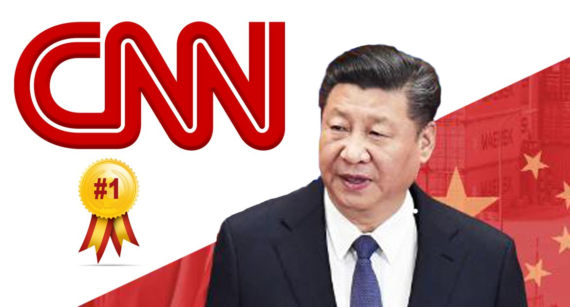 WHOA!  CNN #1 In Ratings, Says Chinese Report