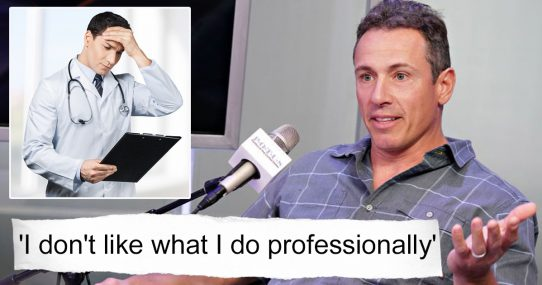 Chris Cuomo's Doctor: 'If Criticizing CNN Is A Symptom, Billions Are Infected'