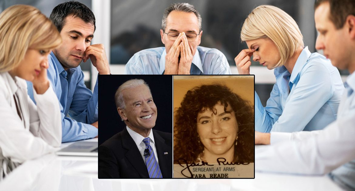 Biden Campaign Troubled That Assaulting Tara Reade Is One Of Only 5 Things He Actually Remembers