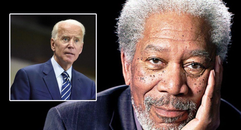DNC Hires Morgan Freeman To Narrate All Joe Biden's Words