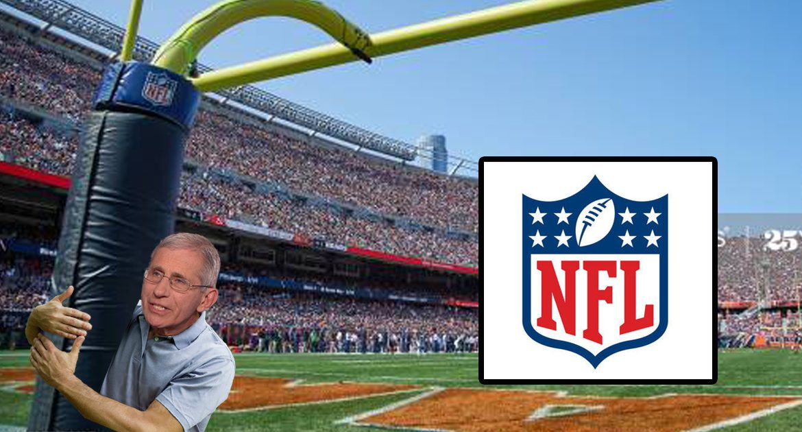 NFL Hires Dr. Fauci To Move Goal Posts