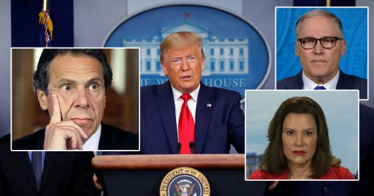 Nation's Governors Furious Trump Trusts Them To Govern