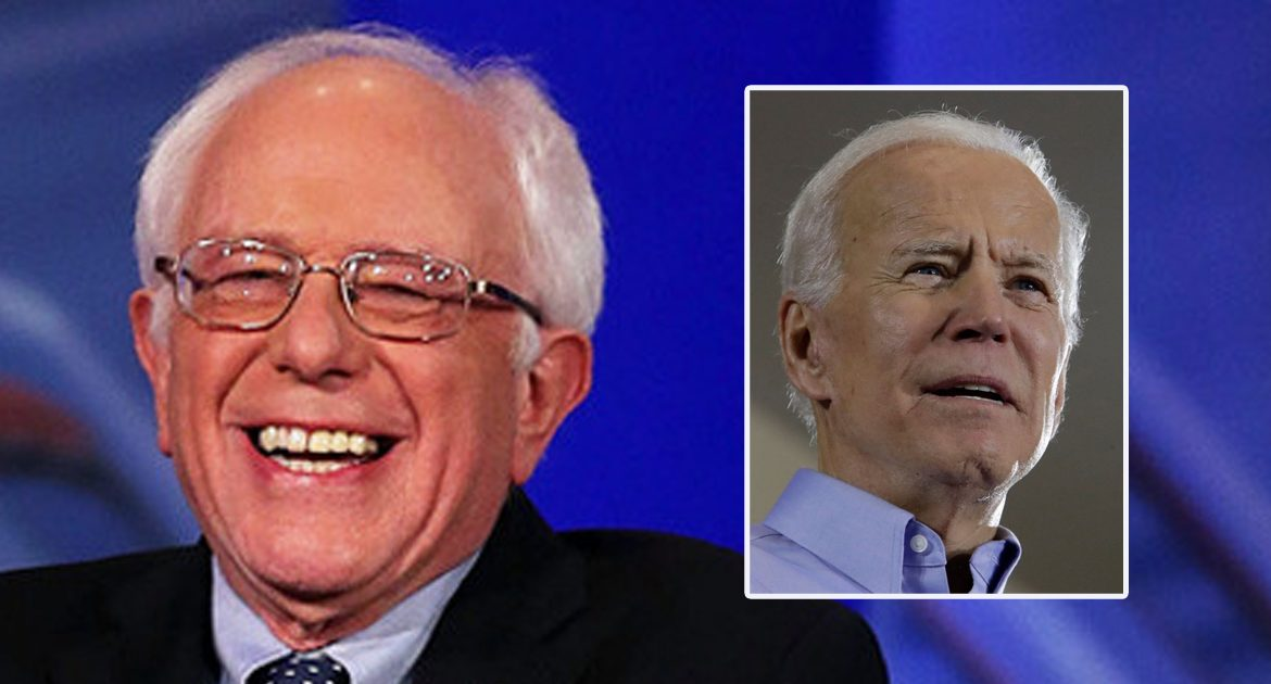 Joe Biden On Sanders Dropping Out Of Race:  'You're Allowed To Do That?!'