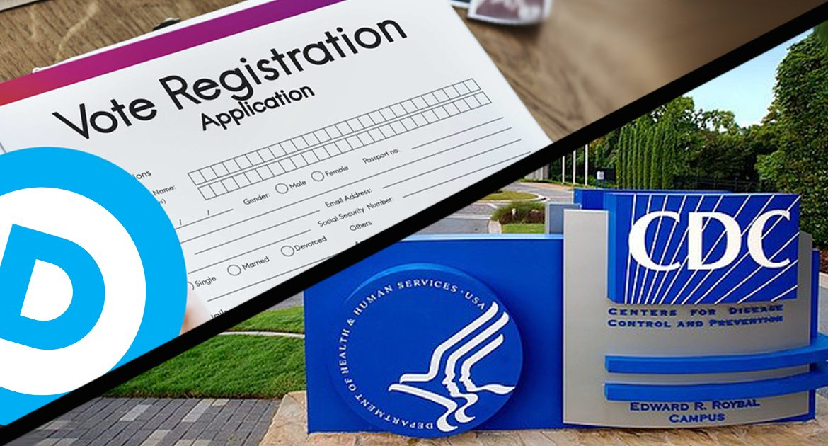 CDC: Paperwork Showing You're A Registered Democrat To Double As COVID-19 Immunity Certificate