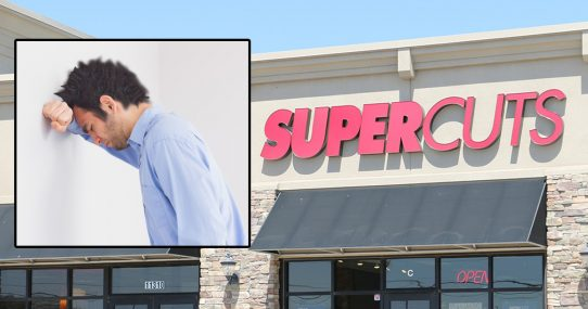 Disaster Looming?  Supercuts Predicts A Terrifying Shortage Of Chairs