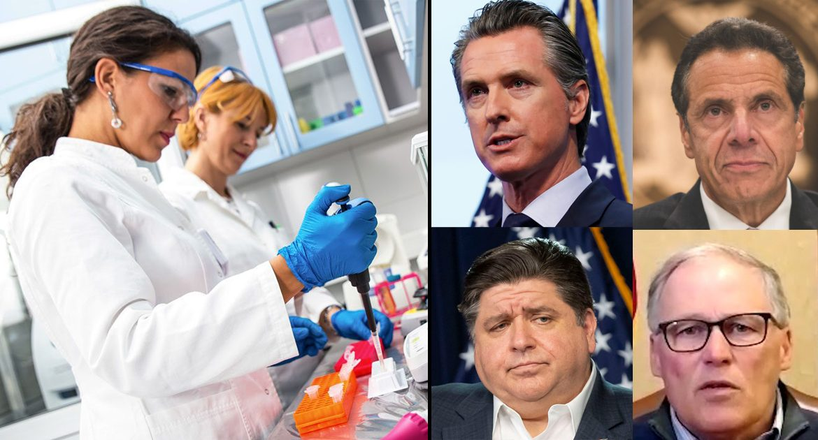 Science: Only Cure For Virus Is Giving Democrat-Run States Federal Bailout