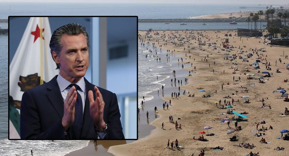 Newsom: 'If I Had Known You Guys Were Going To Abuse The Beaches, I Never Would Have Created Them!'