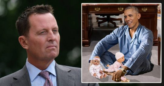 REPORT: Richard Grenell To Declassify Documents Showing Obama Playing With His Dolls