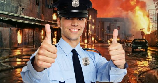 Nation's Police Demand Pay Raise After Getting Rioters 'Right Where We Want Them'