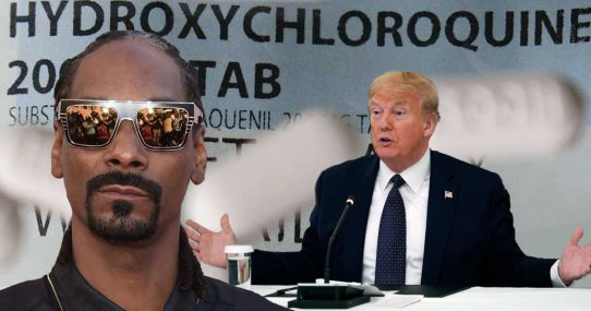 Snoop Dogg Disappointed With Trump's Irresponsible Drug Use