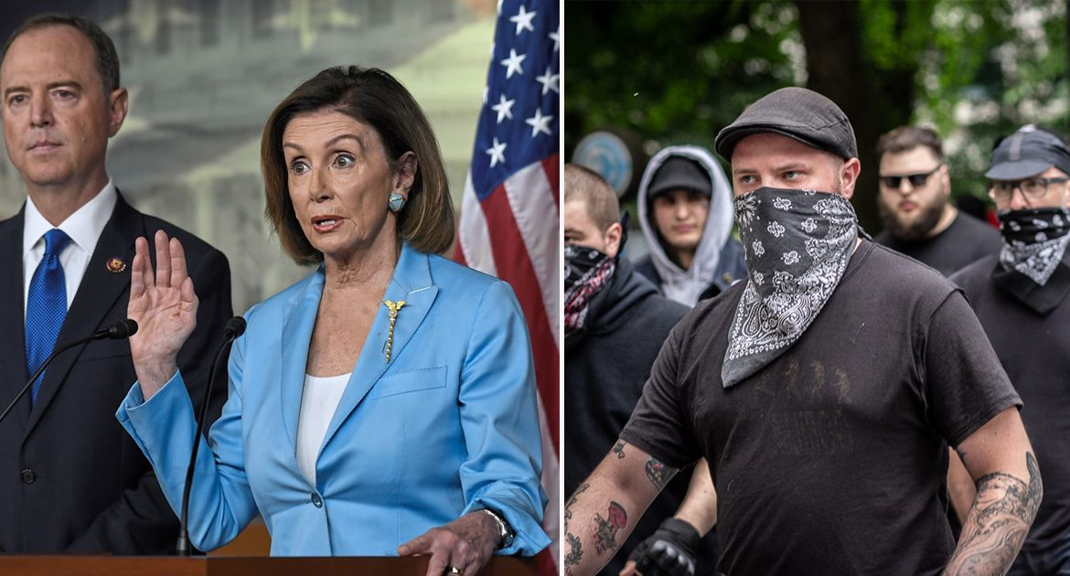 Democrats Assure Antifa They Will Receive Back Pay During Lockdown