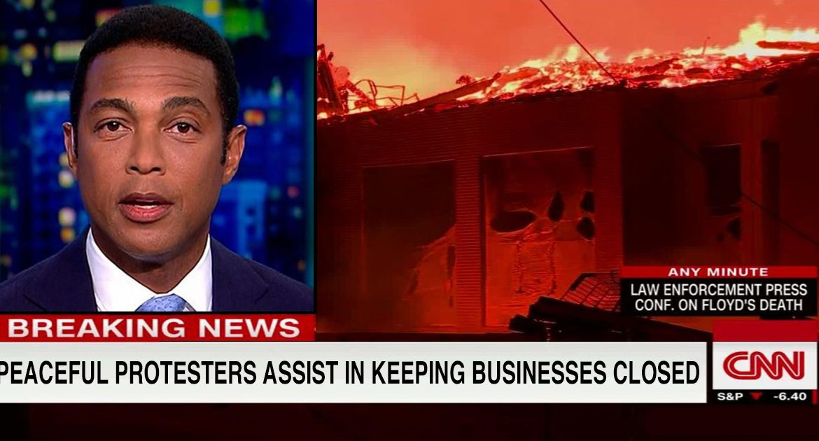 CNN:  Peaceful Protesters Lend Helping Hand To Keep Small Businesses Closed