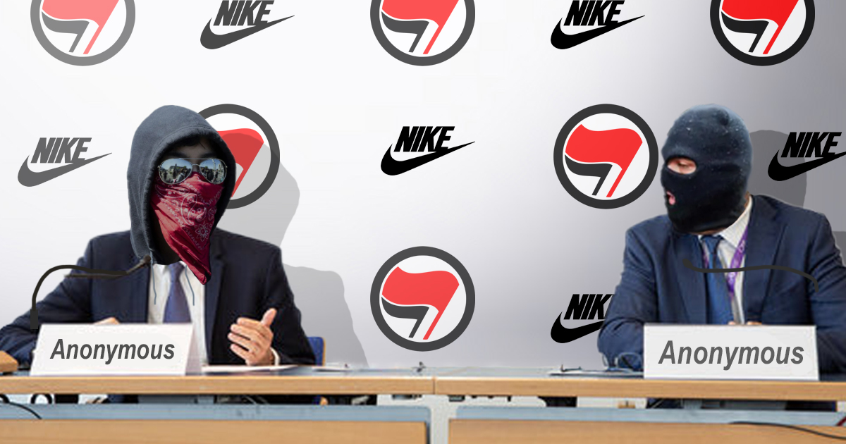 Antifa Holds Press Conference To Inform Public They're Not An Official Organization