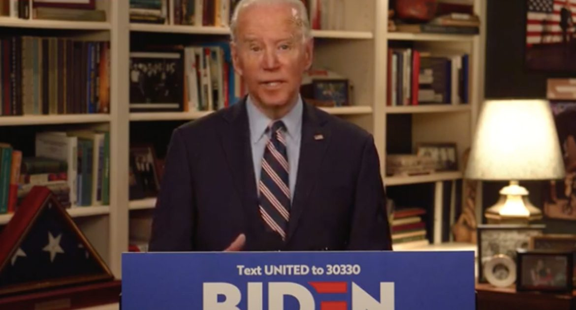 Joe Biden: 'I Will Protect Americans! Unless It's Naptime'
