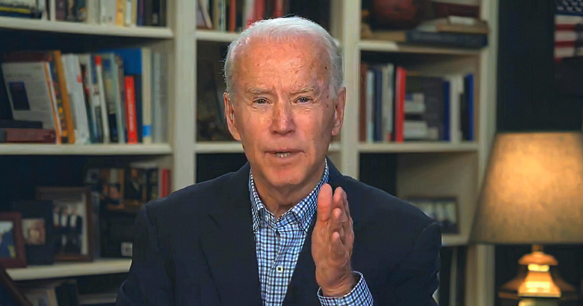 Biden Comforts His Base With A Promise Of 'A Chicken In Every Pot And A Noose In Every Garage'