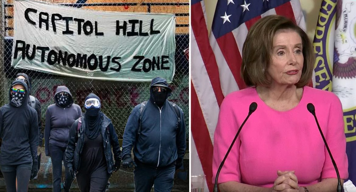 Pelosi: Seattle Area Taken By Antifa Should Be Given 11 Electoral College Votes