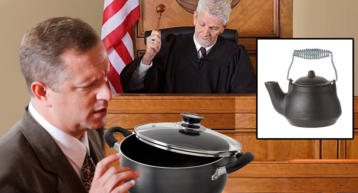 Pot Sentenced To 18 Months For Calling The Kettle Black