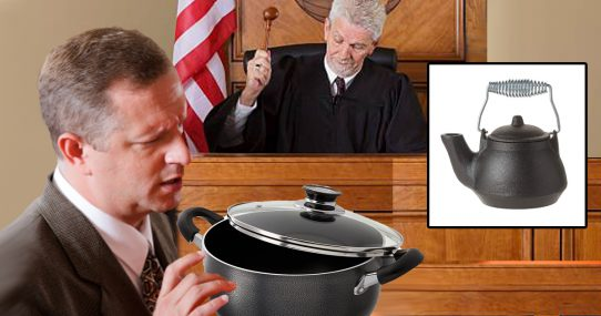 Pot Sentenced To 18 Months In Prison For Calling The Kettle Black