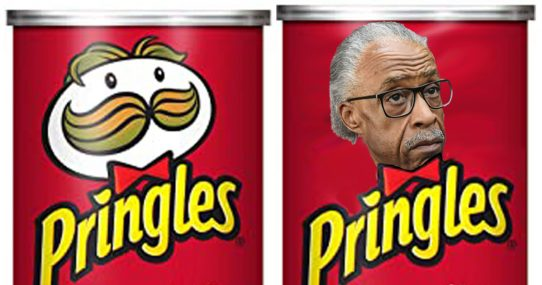 Pringles Forced To Replace Mustache Man With Al Sharpton