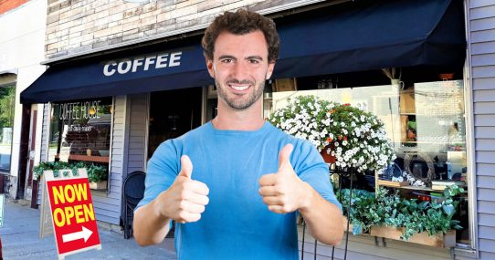 Business Owner Repairs Storefront Using Only White Privilege