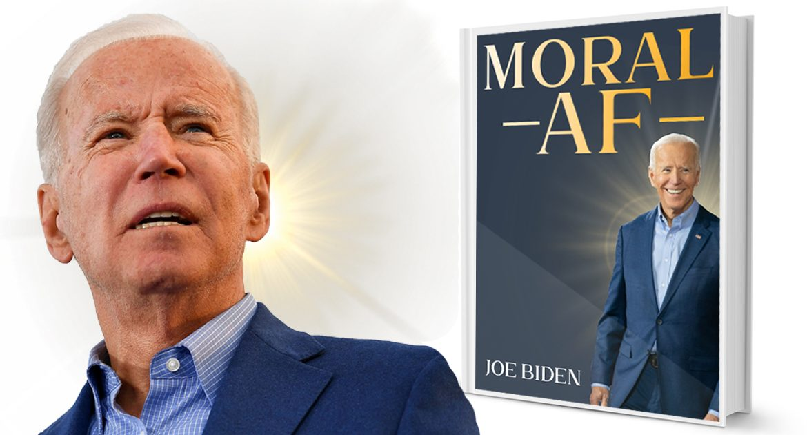Biden Makes Play For Evangelical Vote With New Book 'Moral AF'