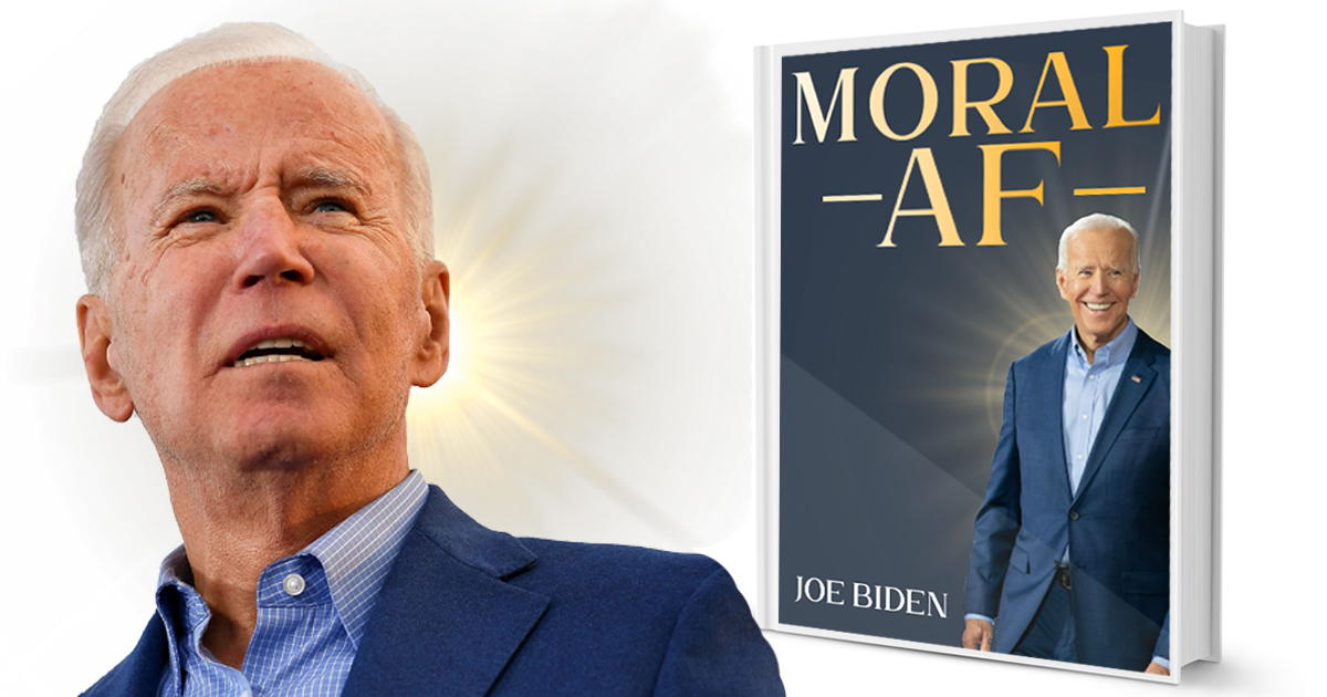 Biden Makes Play For Evangelical Vote With New Book 'Moral AF'