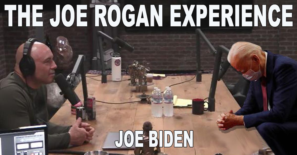Joe Biden Sleeps Through Entire Joe Rogan Interview