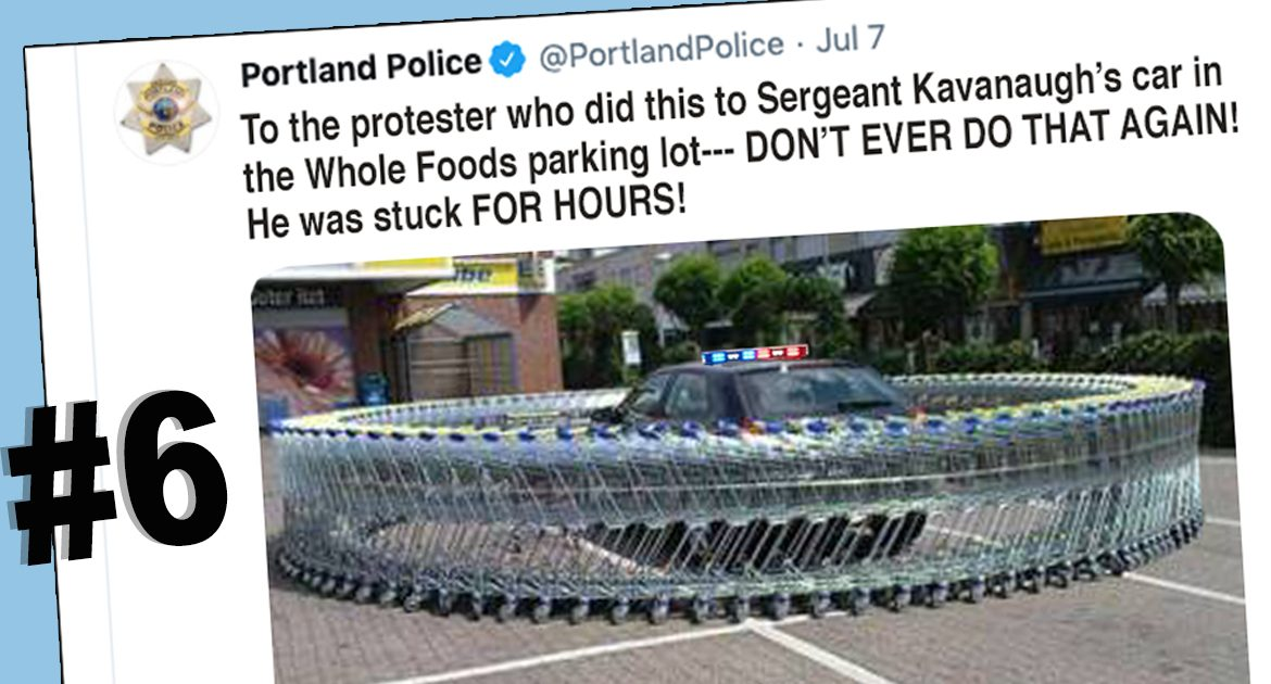 10 Tweets From Portland Police That Show Protestors Are Out Of Control