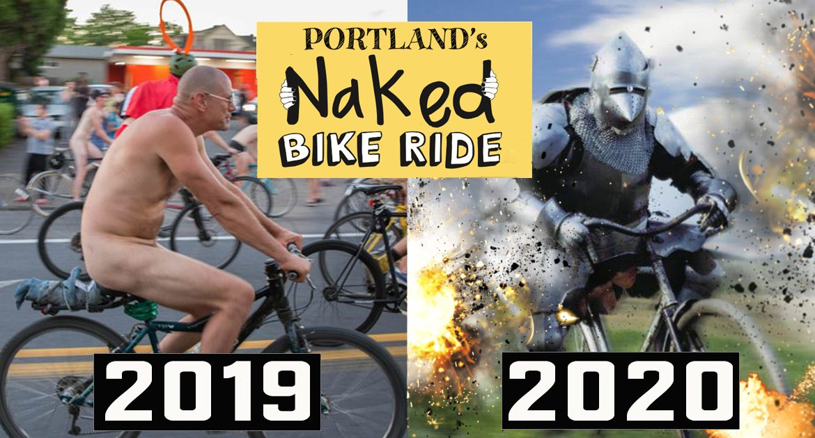 Portland's Annual Naked Bike Ride Will Now Require Head-To-Toe Body Armor