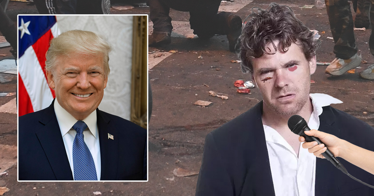 Shock Poll: Trump Leads Big With People Who Just Got Their Ass Beat By Antifa