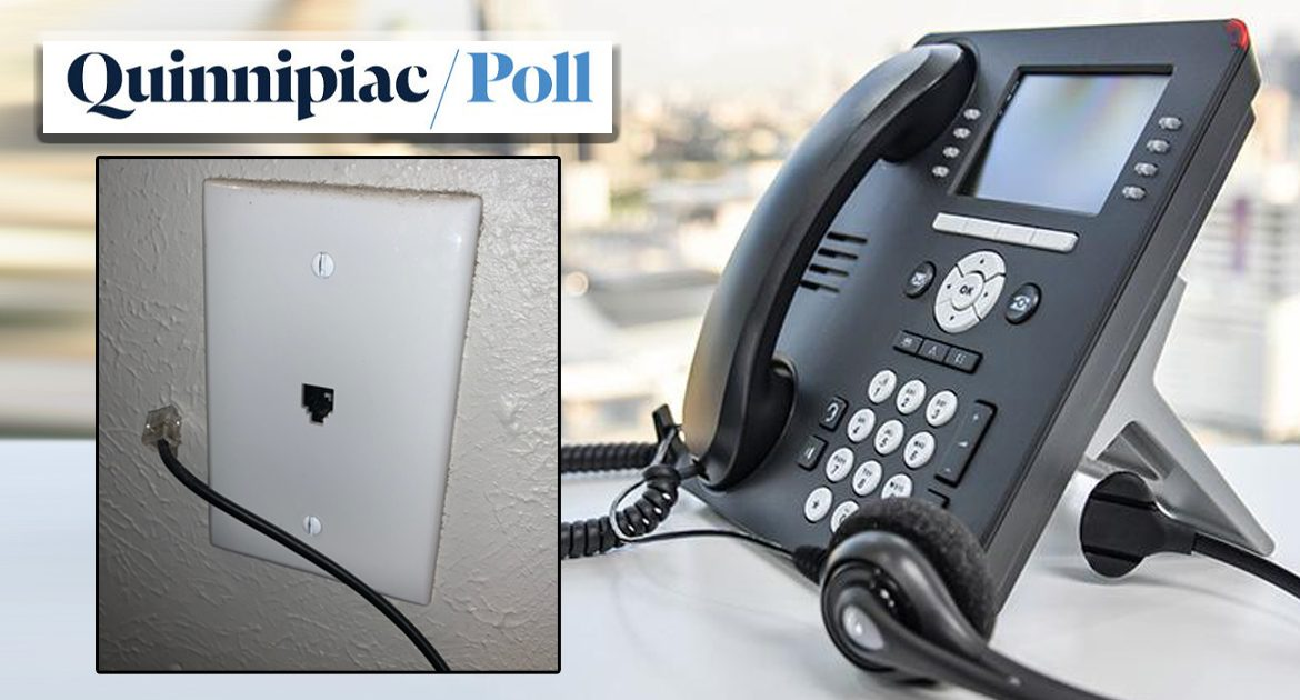 Quinnipiac Admits The Phone They Use To Poll Citizens has been unplugged since 2003