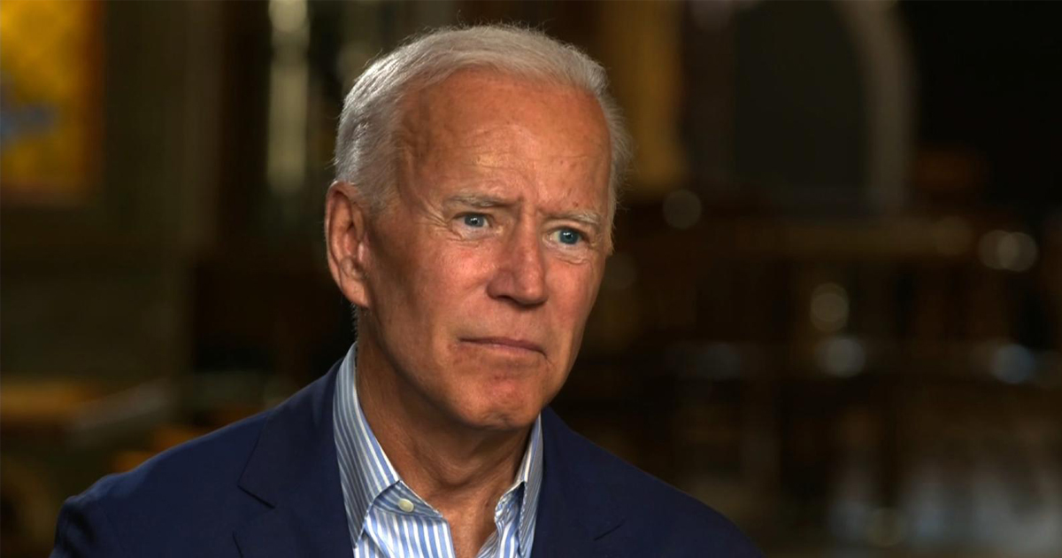 Biden To Staff: 'If COVID Takes My Sense Of Smell, I Don't Want To Live'