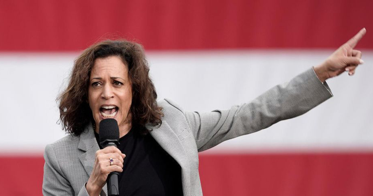 NY Times: Kamala Harris Is So Moderate, She Once Tried Jailing All The Non-Moderates