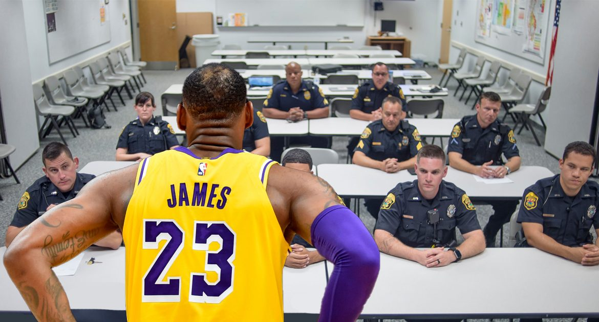 Sports On Hold Until LeBron James Teaches Police How To Do Their Job