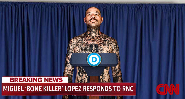 MS-13 Gang Member Gives Democrats' Response To RNC