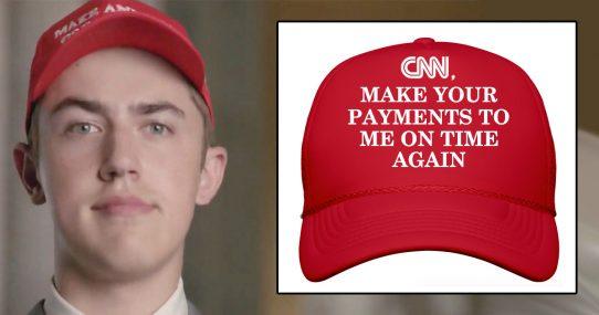 CNN Furious After Closer Look At Nick Sandmann's Hat