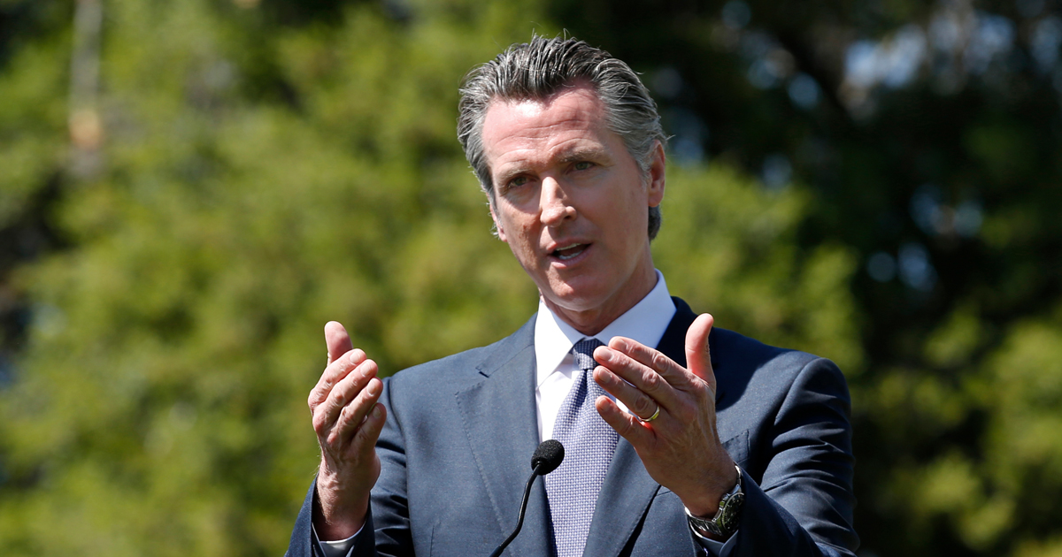 Gavin Newsom Cancels Support For Trump Due To COVID Concerns