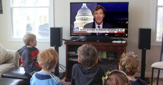 Tucker Carlson Tonight Added To Many Homeschool Curriculums