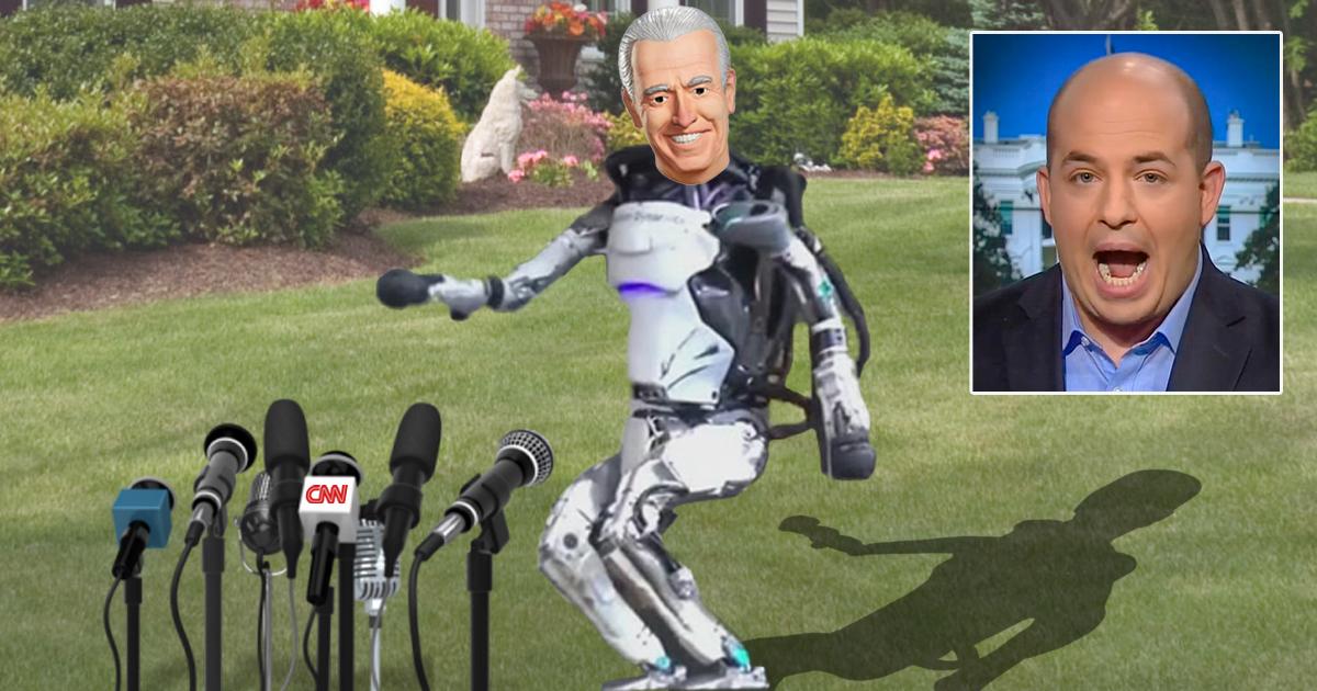 Joe Biden Dazzles Press With Amazing Leaping Ability, Balance