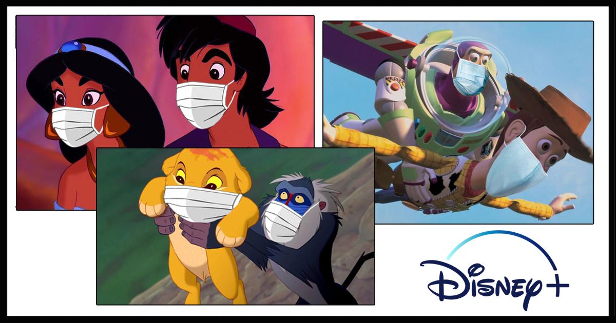 Disney+ Updates Classic Films To Reflect Proper Mask Use