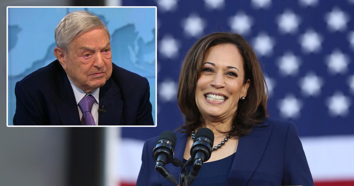 Kamala Harris Accidentally Touts The 'Soros/Harris Administration'