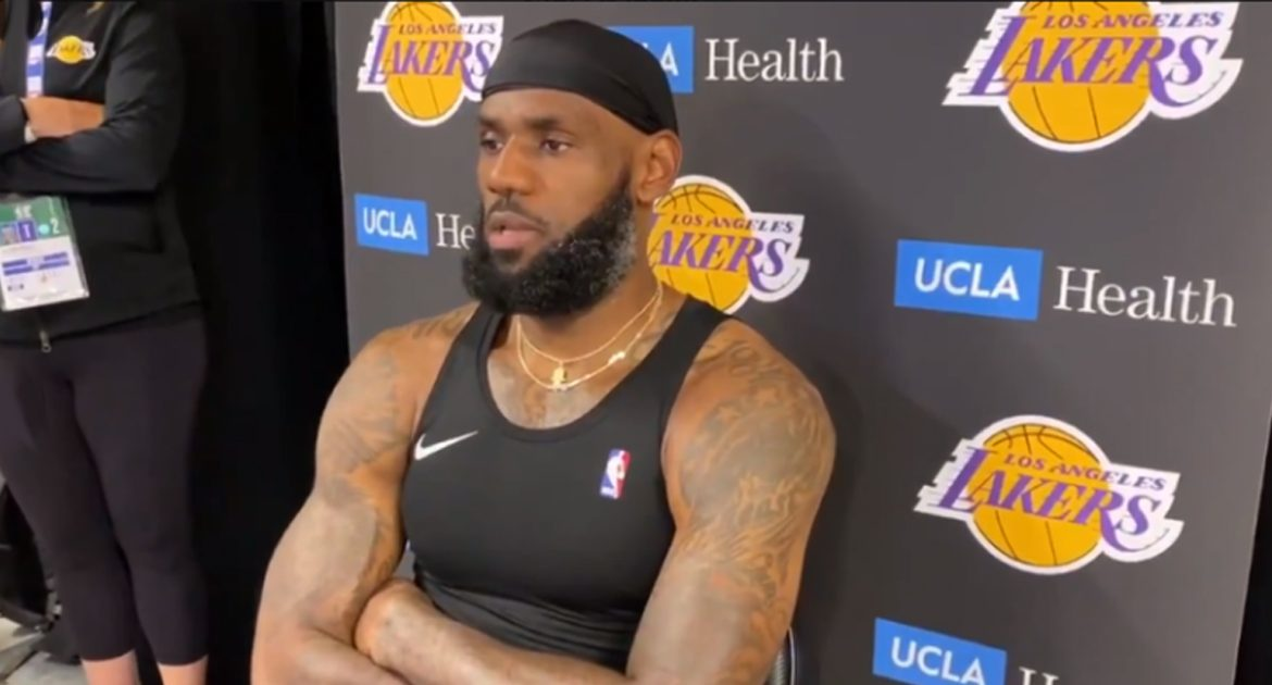 LeBron: 'We're At The Point Where A Girl Can't Even Stab Her Friends Anymore'