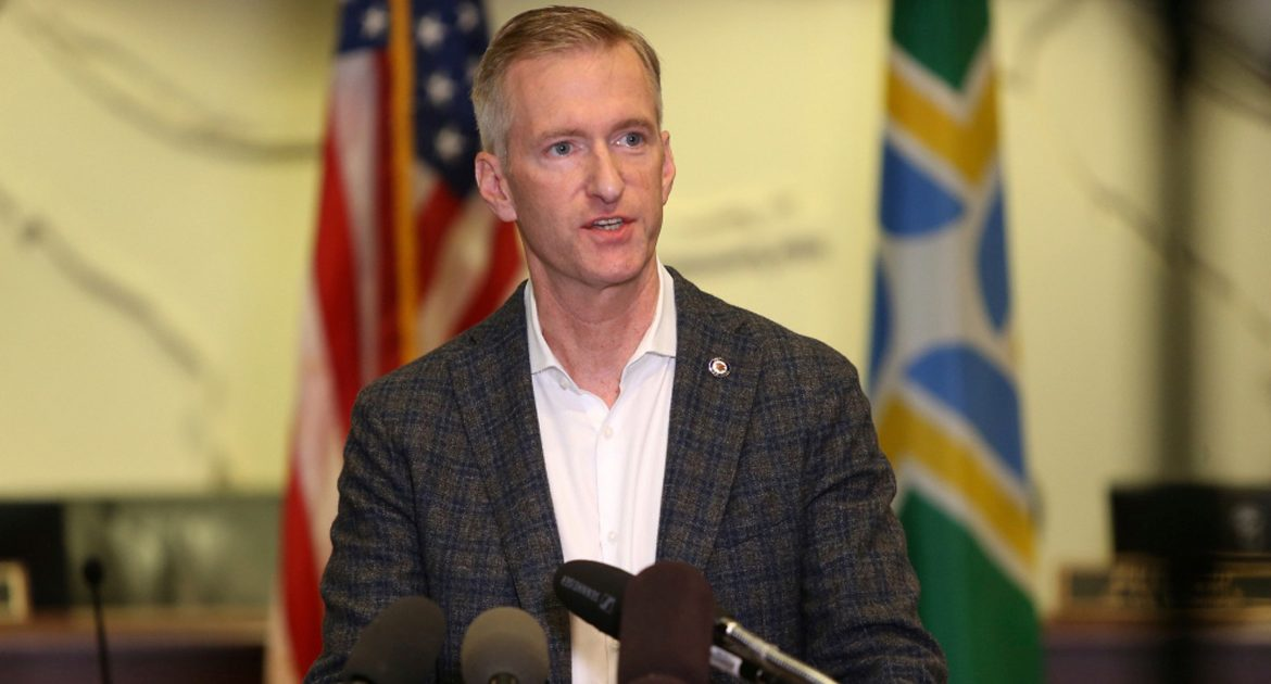 Ted Wheeler: 'If Trump's America Is So Great, How Am I The Mayor Of Portland?'