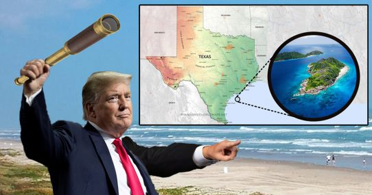 Trump Discovers Two More States Off Texas Shore, Four GOP Senators To Be Added Soon