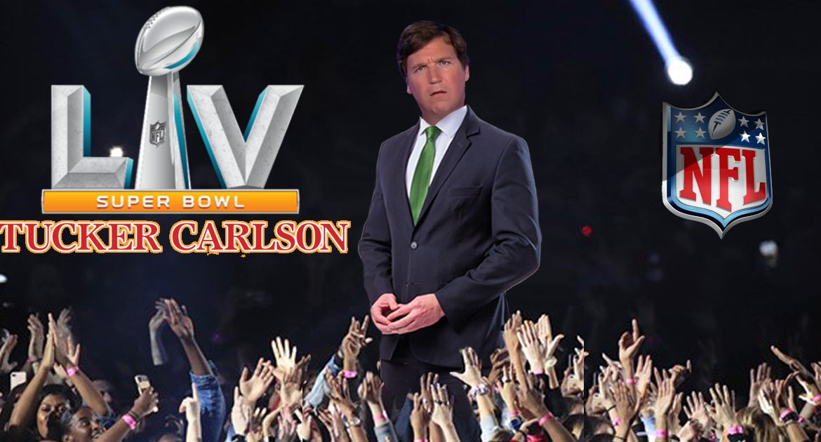 As Ratings Slide, NFL Asks Tucker Carlson To Perform Super Bowl Half Time Show